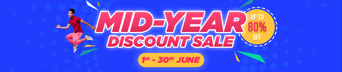 Mid-Year Discount Sale