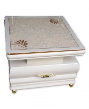 White Center Table Single Unit - Coffee Table