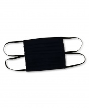 2-Pcs Double-Sided Protective Cotton Face Mask - Black