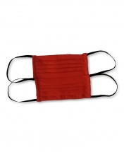 2-Pcs Double-Sided Protective Cotton Face Mask - Red