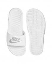 Nike Benassi JDi Slides - White