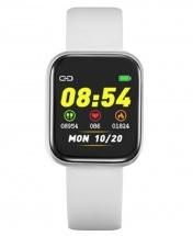 Health Monitoring Waterproof Multi-function Smartwatch IP67 - White