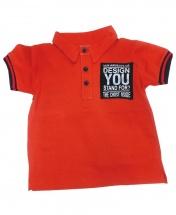 Boys' Short Sleeve Polo Shirt Age 3 - 12 Months