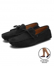 High Quality Suede Leather Men Flats Casual Loafers Moccasin Driving Shoes