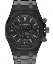 AP Royal Oak Titanium Chronograph - Black