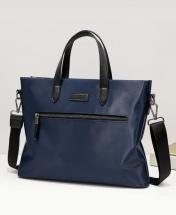 Beixideng Oxford Casual Quality Waterproof Fabric Messenger Shoulder Handbag - Blue