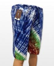 Conak Adire Linen Blend Summer Shorts