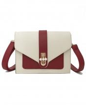 Women's New Wave Retro Fashion Shoulder Messenger Handbag - Red