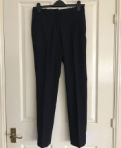 Straight-Leg Pant Trousers