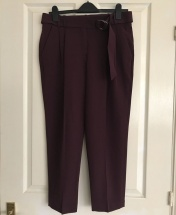 ATM O-Ring Peg Belted Pant Trousers