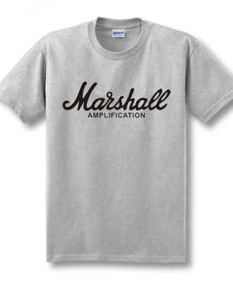 Marshall Cotton T-shirt - Grey