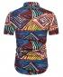 Men's Motif Cotton Short Sleeved Casual Shirt CS2