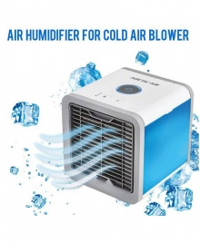 Rechargeable Arctic Air Portable USB Air Conditioner Cooling Fan and Humidifier