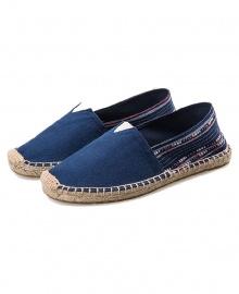 Espadrille Casual Canvas Flat Heel Shoe