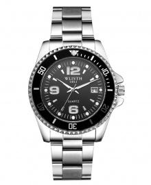 Wlisth 1853 Men's Corporate Chain Watch - Black Face