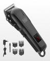 Original Kiki New Gain Rechargeable Convenience Hair Clipper With Led Battery Display - Black