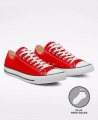 Converse All Star Unisex Low Top Sneakers Shoes - Red