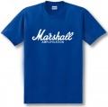 Marshall Cotton T-shirt - Blue