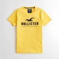 Hollister Cotton Short Sleeve T-Shirt - Yellow
