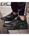 Men's Fashion Lightweight Casual Sneakers Sport Shoes - Black