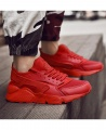 Men's Fashion Lightweight Casual Sneakers Sport Shoes - Red