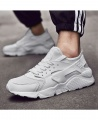 Men's Fashion Lightweight Breathable Casual Sneakers Sport Shoes - White